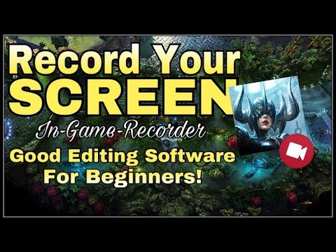 How To Record Your Screen (Gameplay) In Vainglory | Editing Software For Beginners