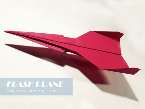 How to Make a Paper Airplane - The Best Paper Planes | Flash