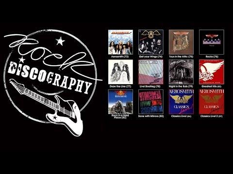 aerosmith discographie
