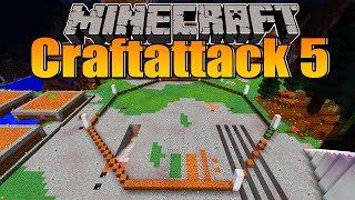 Aufzug fertig! Neues großes Bauprojekt! - Minecraft Craftattack 5 #13