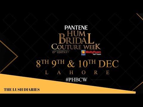 TOP Best dresses l BRIDAL COUTURE WEEK 2017 l pakistani