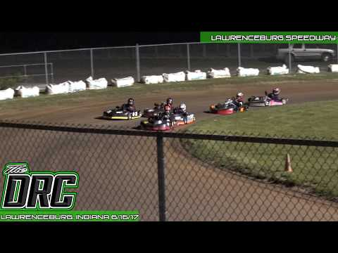 Lawrenceburg Motorcycle Speedway   6.16.17   Pro Novice Jr.   Feature