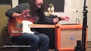 Orange Crush 35RT Demo by Mike Martin