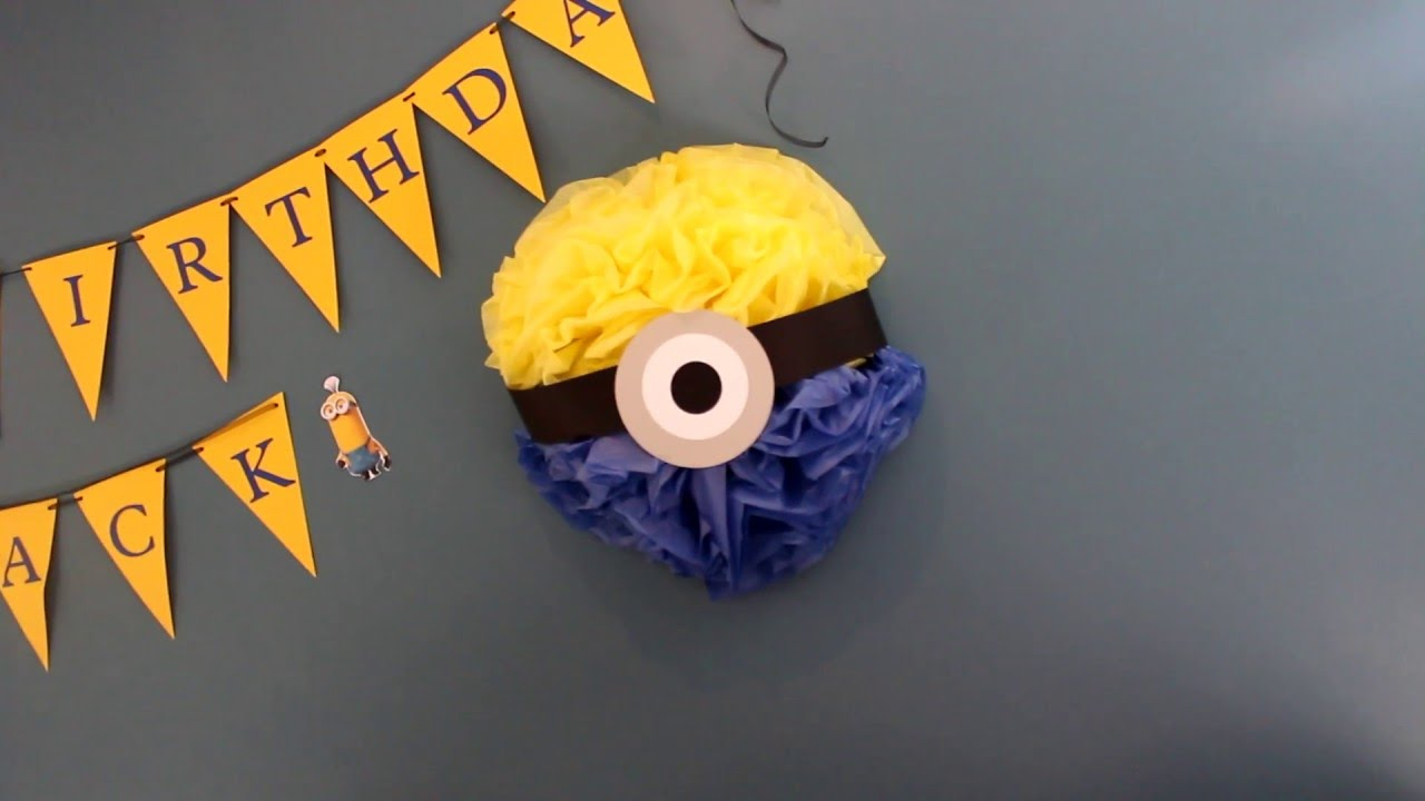 How To Minion Decoration And Ideas Youtube