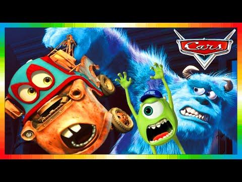 cars english monster mater truck movie lightning mcqueen 1 2 3 monstertrucks goooo. Black Bedroom Furniture Sets. Home Design Ideas