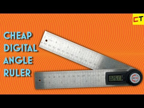 Easy Measuring With Digital Angle Finder Youtube