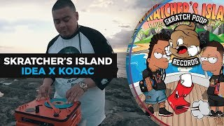 dj idea x kodac visualz present skratchers island 8 portablist scratch video