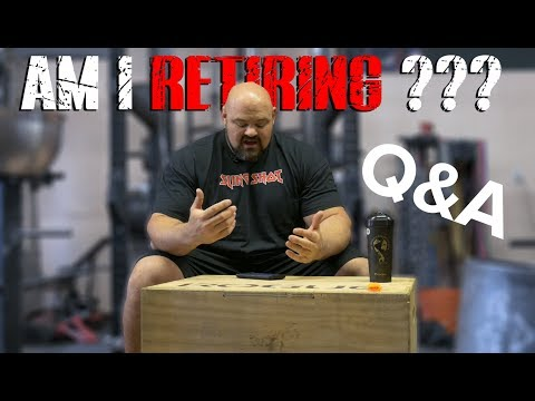 QUESTION AND ANSWER | AM I GOING TO RETIRE?!? | 4X WSM BRIAN SHAW  | 4K