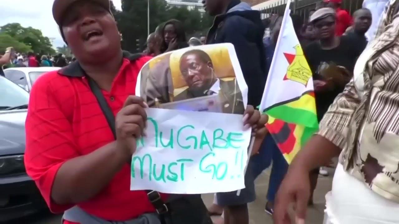 Zimbabwe counts down to Mugabe impeachment