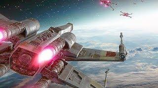 Star Wars Battlefront 2 - Space Battle Gameplay Walkthrough 2017