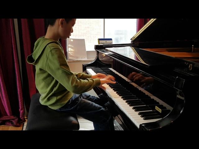 Moxi: Chopin etude excerpt | Studio de piano Trisan Lauber.