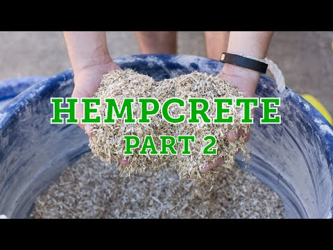 How to Make a Hempcrete Wall