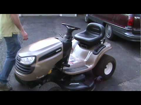 First Look At Our New Broken 2007 Craftsman Dls3500 Lawn Tractor
