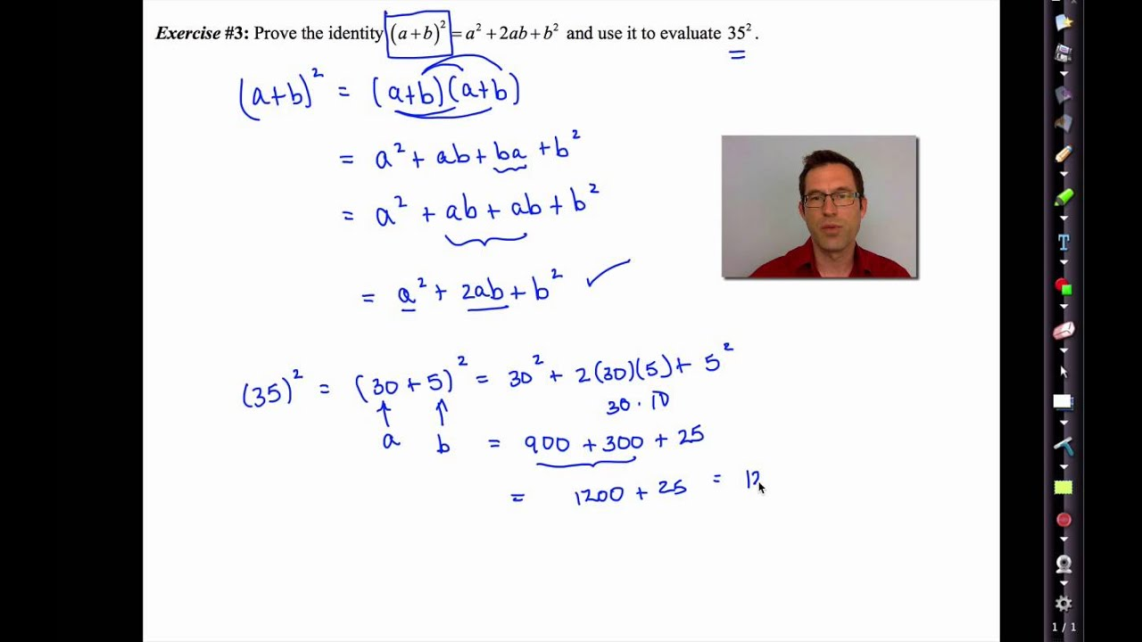 Common Core Algebra II.Unit 10.Lesson 4.Polynomial Identities ...