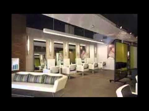 Hair Salon Interior Design Ideas - YouTube