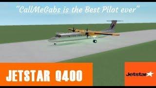 Roblox Flight -:- JetStar Q400 -:- The Greatest Pilot Ever
