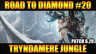 ROAD TO DIAMOND #20 Tryndamere Jungle [PT-BR] Patch 6.20