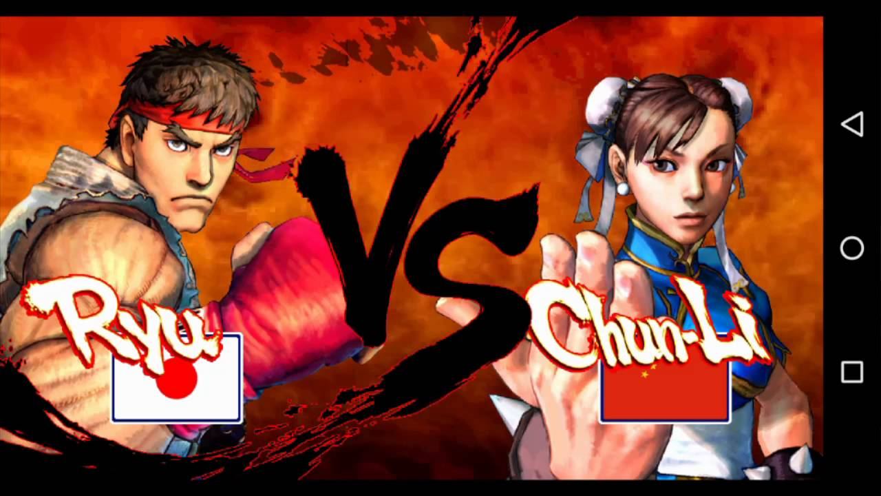 street fighter iv hd android gameplay part 1 youtube