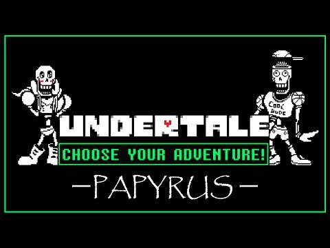 Undertale: INTERACTIVE Papyrus Date & Hangout
