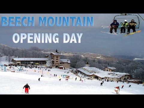 BEECH MOUNTAIN OPENING DAY SNOWBOARDING | VLOG#34