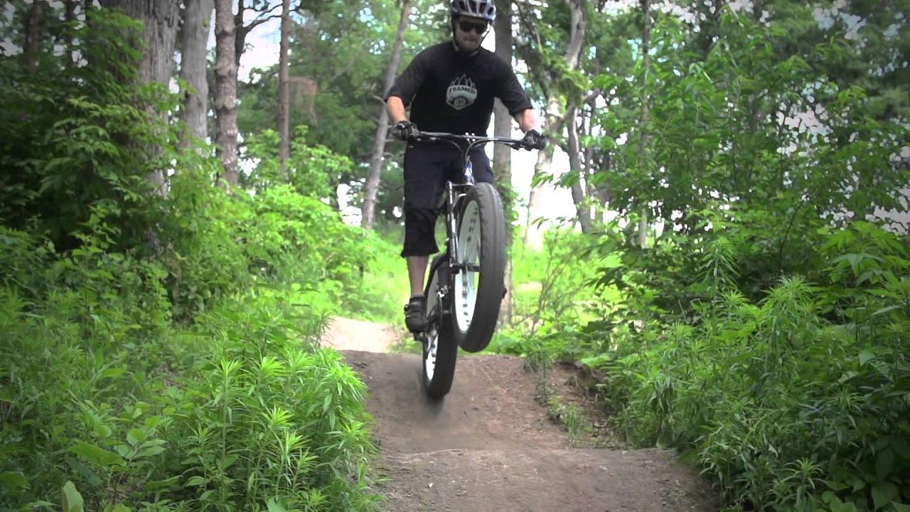 framed alaskan alloy fat bike