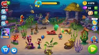 Fishdom - Level 106 - 110 - Gameplay screenshot 3