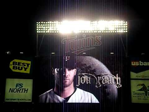 Jon Rauch Intro Video at Target Field