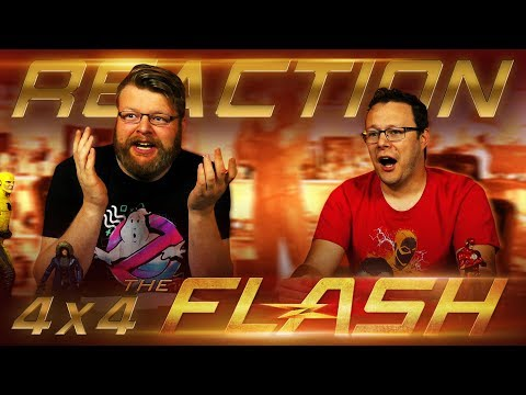 "The Flash 4x4 REACTION!! ""Elongated Journey Into Night"""