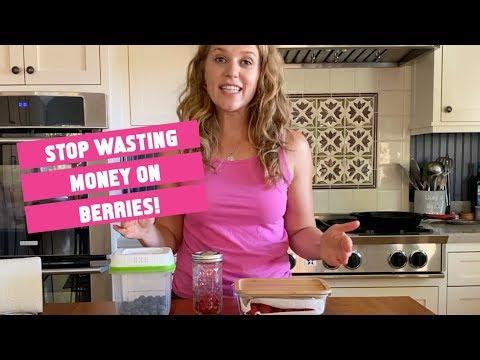 How to store berries in fridge
