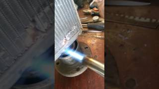 только так паять радиатор припой HTS 2000 СВОИМИ РУКАМИ