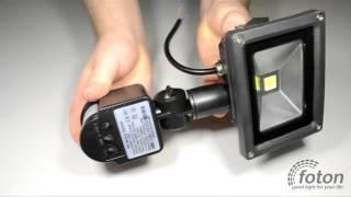 Светодиодный прожектор с датчиком движения PFL-10-30W, 220V(, 2015-09-10T14:32:10.000Z)