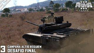 DLC TANKS | SINGLE | ALTIS REQUIEM #2 DESAFIO FINAL | DLC ArmA 3 Gameplay Español (1440p60HD)