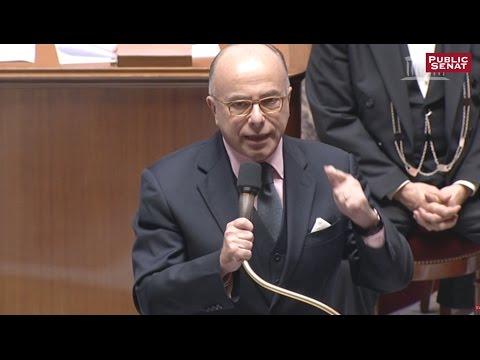 """Bernard Cazeneuve : """"Je voudrais rendre hommage au président de la République"""""""