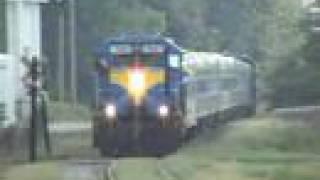Heart of Georgia passenger train in Cordele,GA