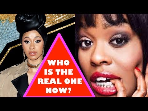 CARDI B DELETES HER WHOLE INSTAGRAM ACCOUNT OVER AZEALIA BANKS? IS CARDI B RUNNING FROM THE TRUTH?