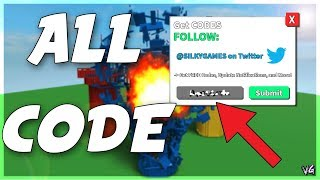 NEW ALL CODES IN DESTRUCTION SIMULATOR! (Roblox)