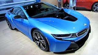 2015 BMW i8 - Exterior and Interior Walkaround - 2014 New York Auto Show