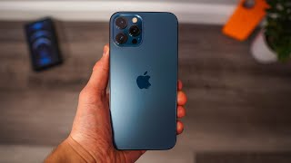 Apple iPhone 12 Pro Max Pacific Blue 128GB Unboxing