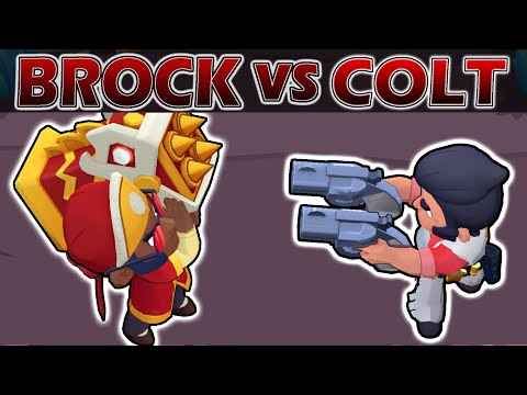 BROCK vs COLT | 1 VS 1 | The Bast Sniper