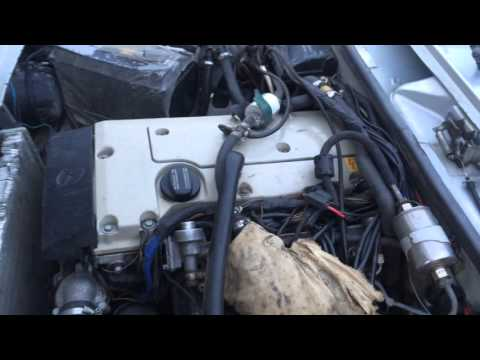 ваз с двигателем от мерседеса 210 2.3 л.