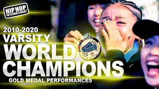 Kana-Boon! - Japan | Gold Medalist Varsity Division at Hip Hop International's 2018 World Hip Hop Dance Championship Finals, held at GCU Arena in Phoenix, ...