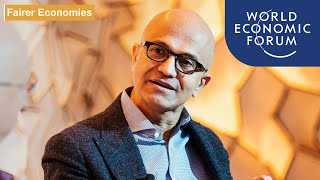 Satya Nadella, Microsoft CEO: An Insight, An Idea | DAVOS 2020