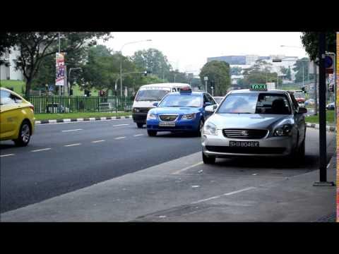 Taxi fleet in Singapore