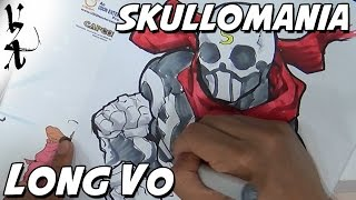 Long Vo drawing Skullomania