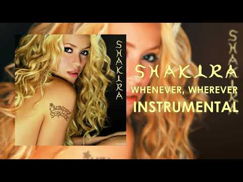 ShakiraWhenever,Wherever  Instrumental