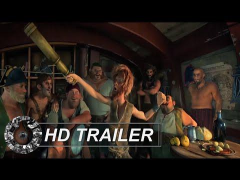 Trailer do filme As Aventuras de Robinson Crusoé