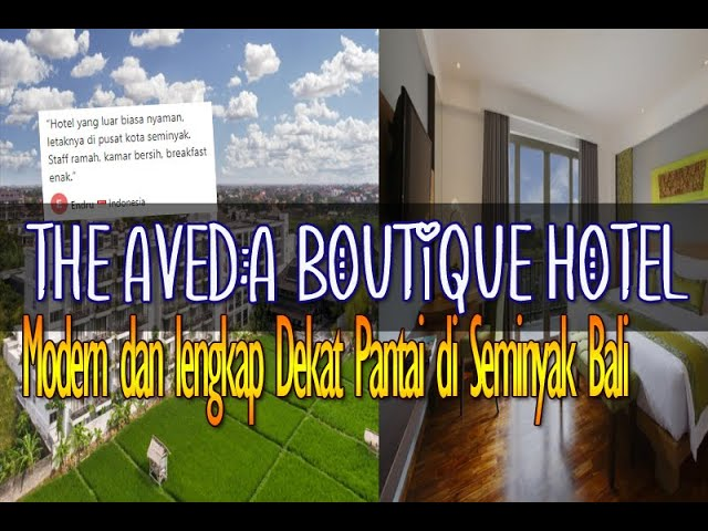 The Aveda Boutique Hotel, Penginapan Modern dan Lengkap Dekat Pantai di Seminyak Bali