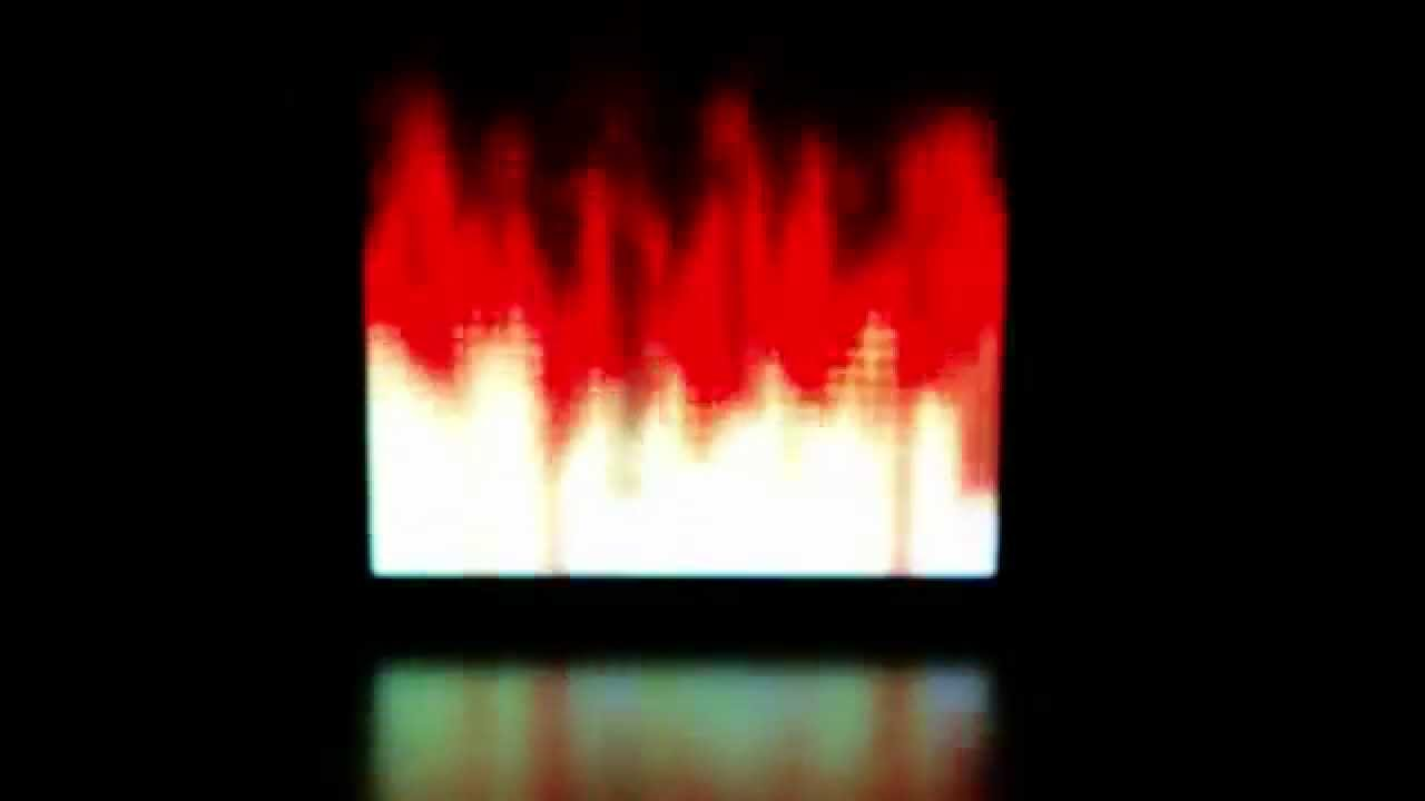 Fire with Noise Smearing - SmartMatrix Pattern by Jason Coon