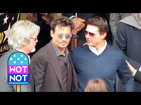 Thumbnail: Johnny Depp meets Tom Cruise in Hollywood