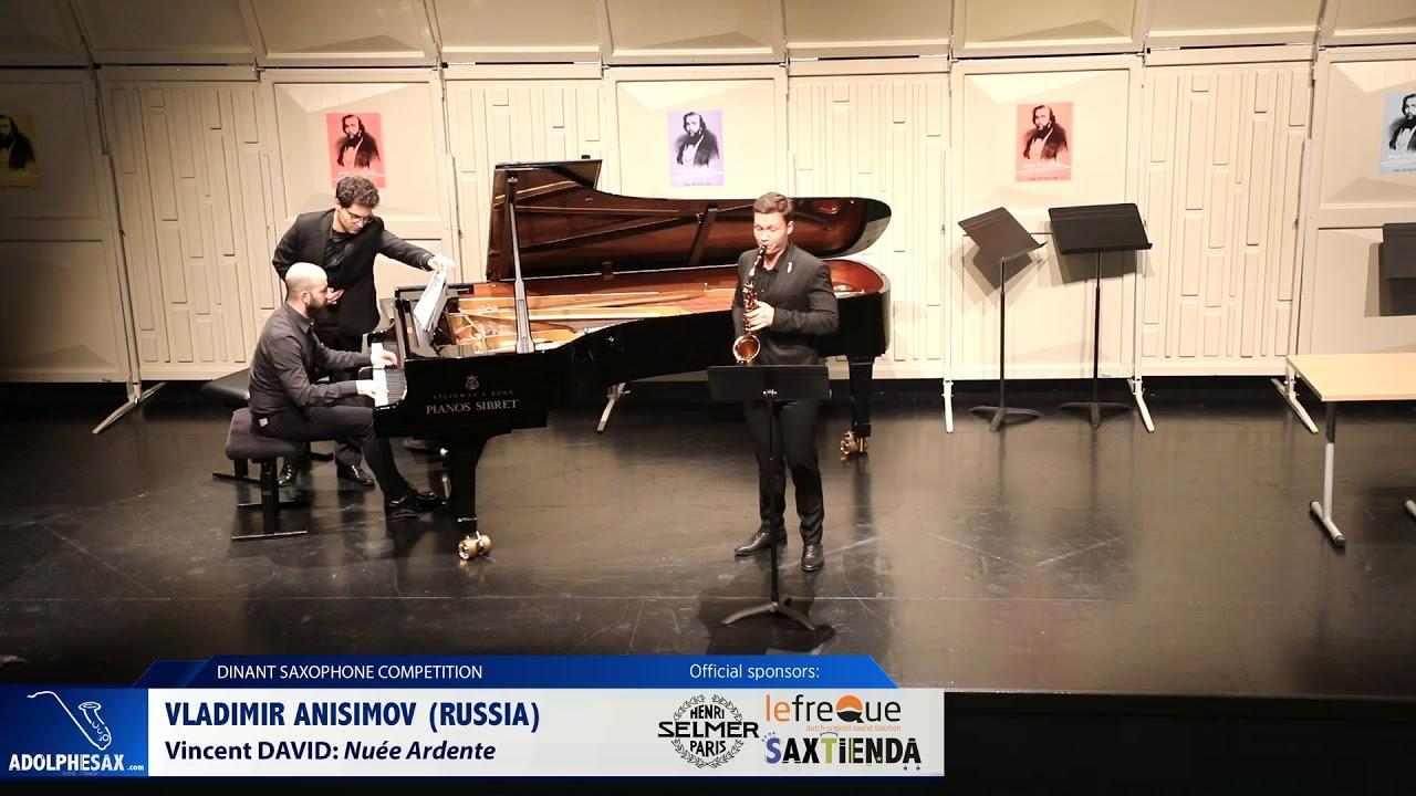 Vladimir Anisimov (Russia) - Nuée Ardente by Vincent David  (Dinant 2019)